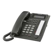 Системный телефон PANASONIC KX-T7735RUB черный [kx-t7735ru-b]