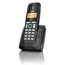 Радиотелефон GIGASET A220, черный
