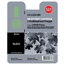 Картридж CACTUS CS-CLI521BK черный