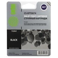 Картридж CACTUS CS-EPT0074 черный