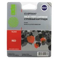 Картридж CACTUS CS-EPT0547 красный