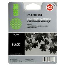 Картридж CACTUS CS-PGI425BK черный