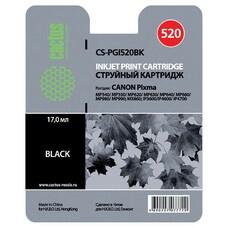 Картридж CACTUS CS-PGI520BK черный