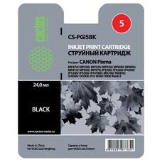 Картридж CACTUS CS-PGI5BK черный