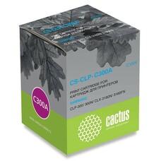 Картридж CACTUS CS-CLP-C300A голубой