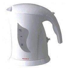 Чайник электрический SUPRA KES-1201, 900Вт, белый [1497]