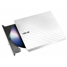 Оптический привод DVD-RW ASUS SDRW-08D2S-U, внешний, USB, белый, Ret [sdrw-08d2s-u lite/wht/g/as]