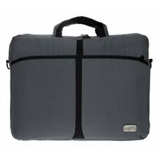 "Сумка для ноутбука PC PET 600D 17"" нейлон серый [pcp-a1317gy]"