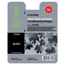 Картридж CACTUS CS-BCI3BK черный