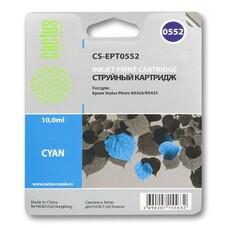 Картридж CACTUS CS-EPT0552 голубой