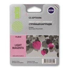 Картридж CACTUS CS-EPT0596 светло-пурпурный