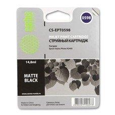 Картридж CACTUS CS-EPT0598 черный матовый