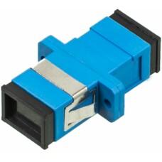Адаптер проходной Lanmaster (TWT-SC-AM-SM) SC OS1/OS2 голубой (упак.:1шт)