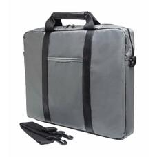 """Сумка для ноутбука PC PET PCP-1003GR 15.6"""" нейлон серый/черный"""
