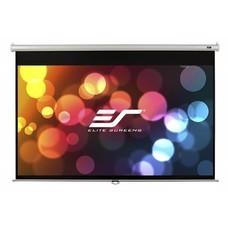 Экран ELITE SCREENS Manual M120XWH2, 265.7х149.4 см, 16:9, настенно-потолочный белый