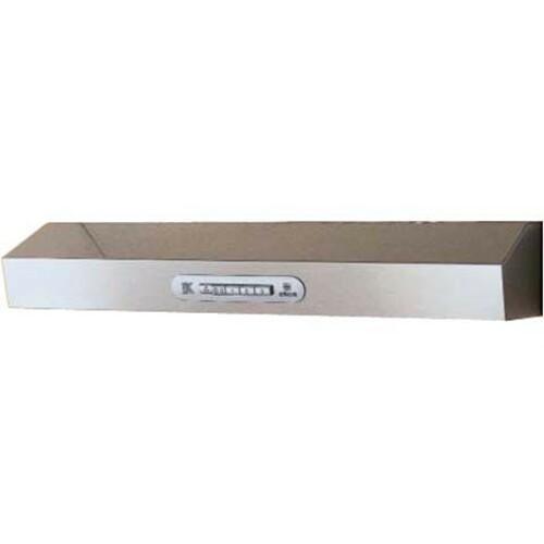 Вытяжка козырьковая Elica Krea Lux GFA WH/F/50 белый управление: кнопочное (1 мотор) [55311142/3]
