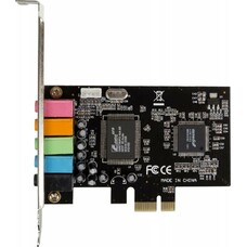 Звуковая карта PCI-E 8738, 5.1, bulk [asia 8738 6c]