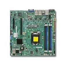 Материнская Плата SuperMicro MBD-X10SLM+-LN4F-O Soc-1150 iC224 mATX 4xDDR3 2xSATAII 4xSATA3 SATA RAID i210AT 4xGgbEth OEM