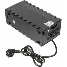 Источник бесперебойного питания POWERCOM Raptor RPT-600AP, 600ВA