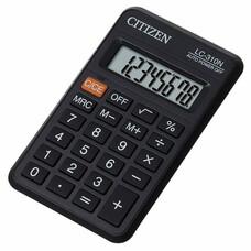 Калькулятор карманный Citizen LC-310N черный 8-разр.