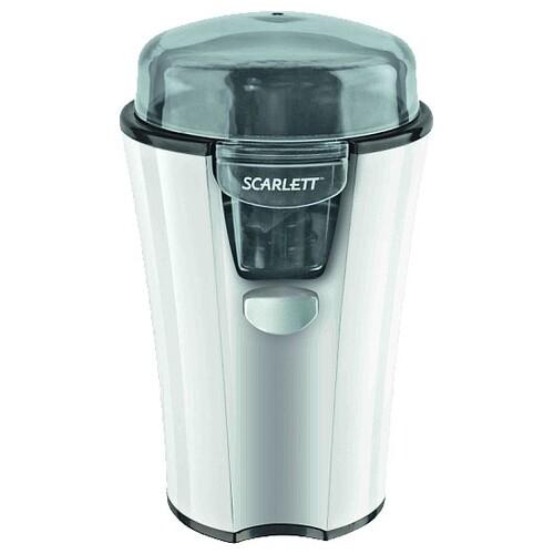 Кофемолка Scarlett SC-010 180Вт сист.помол.:ротац.нож вместим.:40гр белый