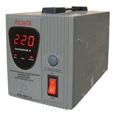 Стабилизатор напряжения РЕСАНТА АСН-500/1-Ц, 0.5кВт серый