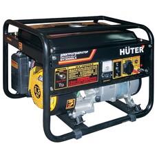 Бензиновый генератор HUTER DY3000LX, 220 В, 2.8кВт