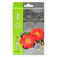 Фотобумага Cactus CS-GA618025 10x15/180г/м2/25л./белый глянцевое для струйной печати