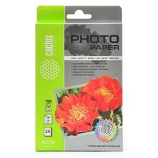 Фотобумага Cactus CS-MA619025 10x15/190г/м2/25л./белый матовое для струйной печати