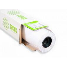 """Бумага Cactus CS-PC90-61045 24""""(A1) 610мм-45м/90г/м2/белый универсальная (с покрытием) втулка:50.8мм"""