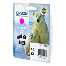 Картридж струйный Epson C13T26134010 пурпурный для Epson XP-70 (300стр.)