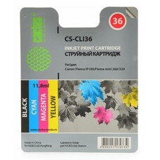 Картридж CACTUS CS-CLI36 многоцветный