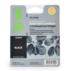 Картридж CACTUS CS-LX34 черный