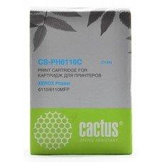 Картридж CACTUS CS-PH6110C голубой