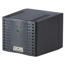 Стабилизатор напряжения POWERCOM TCA-2000 черный