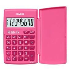 Калькулятор CASIO LC-401LV-PK, 8-разрядный, розовый