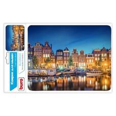 Коврик для мыши BURO BU-M10034 рисунок/амстердам