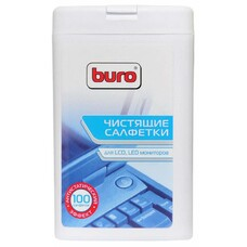 Салфетки Buro BU-tft для экранов ЖК мониторов туба 100шт влажных