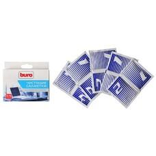 Салфетки Buro BU-W/D универсальные коробка 5шт влажных + 5шт сухих