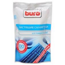 Влажные салфетки BURO BU-Zsurface