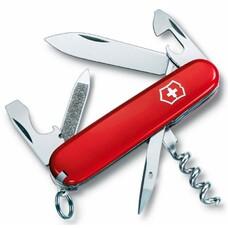 Складной нож VICTORINOX Sportsman, 13 функций, 84мм, красный [0.3803]