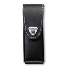 Чехол из нат.кожи Victorinox Leather Belt Pouch (4.0523.3) черный с застежкой на липучке без упаковк