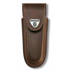Чехол из нат.кожи Victorinox Leather Belt Pouch (4.0537) коричневый с застежкой на липучке без упако