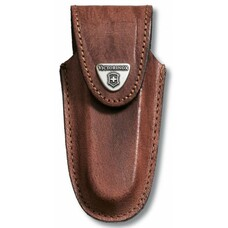 Чехол из нат.кожи Victorinox Leather Belt Pouch (4.0538) коричневый с застежкой на липучке без упако