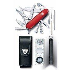Набор инструментов Victorinox Traveller Set (1.8726) компл.:нож/фонарь/компас/чехол карт.коробка