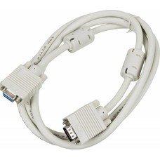 Кабель-удлинитель SVGA NINGBO CAB015S-06F, VGA (m) - VGA (f), ферритовый фильтр , 1.8м