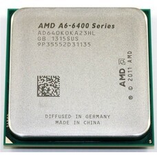 Процессор AMD A6 6400K, SocketFM2 OEM [ad640koka23hl]
