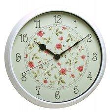 Настенные часы БЮРОКРАТ WallC-R23P, аналоговые, белый [WALLC-R23P/WHITE]