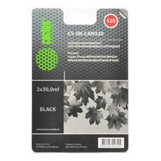 Заправочный комплект CACTUS CS-RK-CAN520, для Canon, 30мл, черный