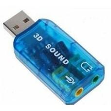 Звуковая карта USB TRUA3D, 2.0, Ret [asia usb 6c v]